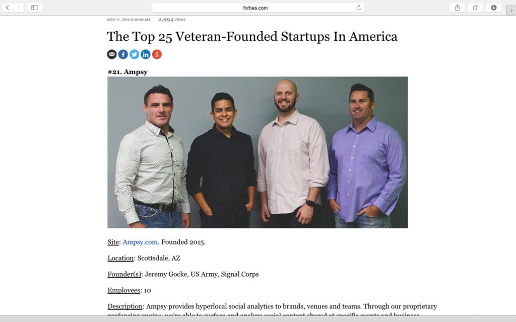 forbes-top-25-veteran-founded-startups-in-america-ampsy